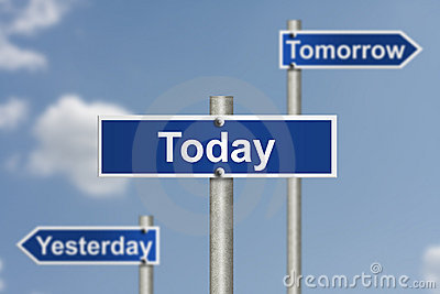 Only today counts