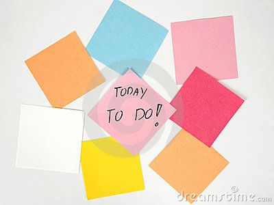 Today to do!