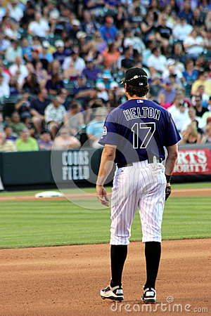 Todd Helton Editorial Photography
