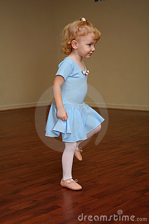 Toddler ballerina