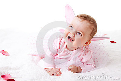 Toddler in a Fairy Outfit