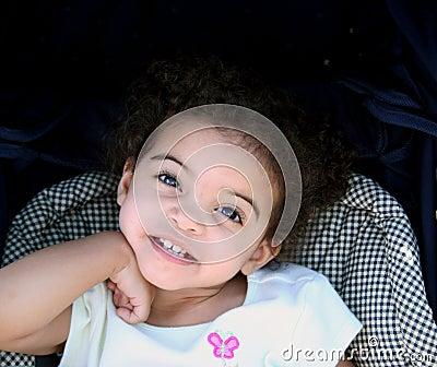 Toddler Girl Smile