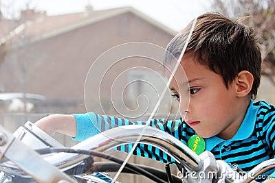 Toddler Motorcyle Rider