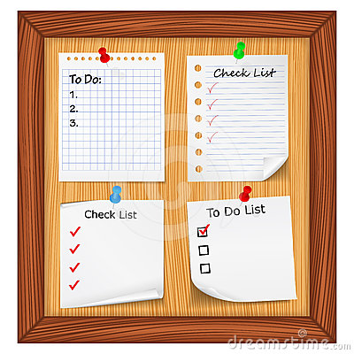 ToDo List and Check List