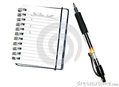 Todo List & Pen