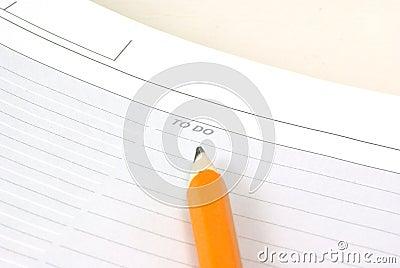 Todo and Pencil