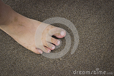 Toes on the Beach