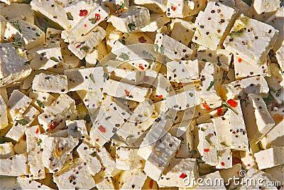 Tofu in der Marinade
