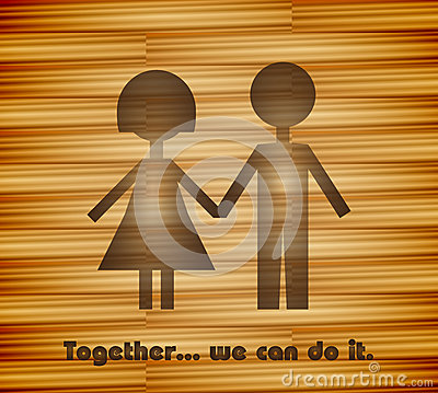 Together, we can do it!
