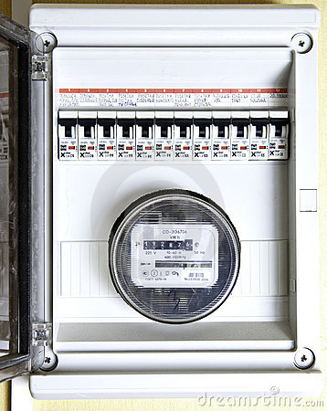 Toggle and electric meter
