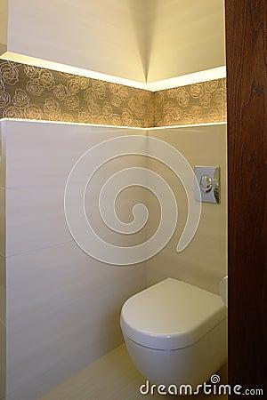 Toilet corner