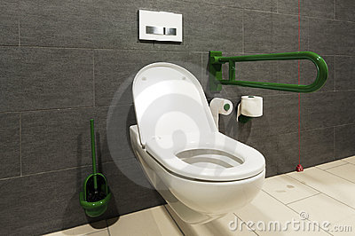 Toilet for handicapped people royalty free stock photo - Toilet for handicapped person ...