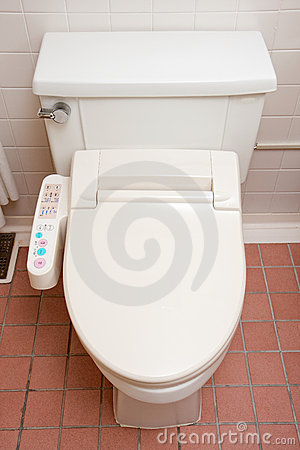 Toilet With Heated Seat Royalty Free Stock Photo Image 8282495
