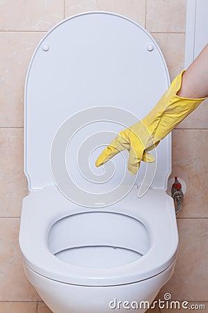 Toilet hygiene concept