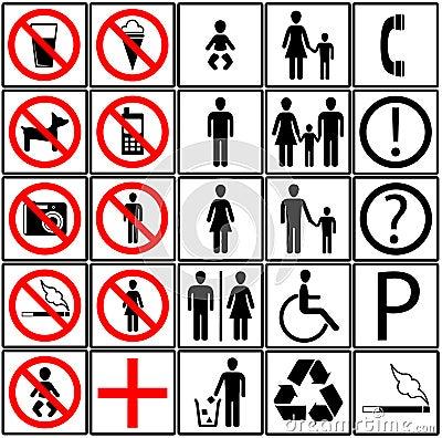 Free Toilet Icons Royalty Free Stock Image - 8083416