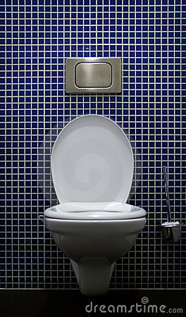 Free Toilet Inside Royalty Free Stock Photo - 3658935