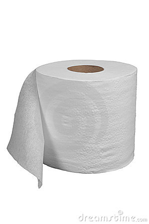 Free Toilet Paper Royalty Free Stock Photography - 20481177