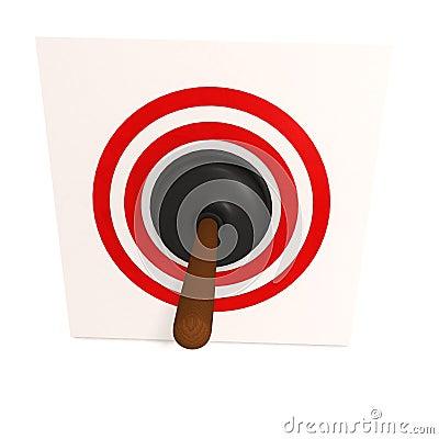 toilet plunger in target stock illustration image 54750633. Black Bedroom Furniture Sets. Home Design Ideas
