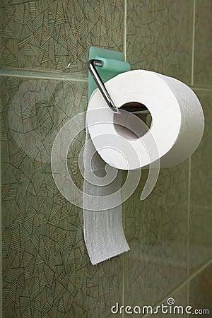 Toilet roll indoor convenience restroom