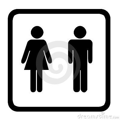 Free Toilet Sign Royalty Free Stock Photo - 4328175