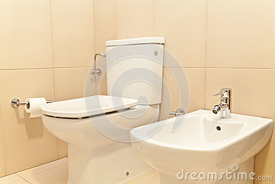 Toilet WC and Bidet