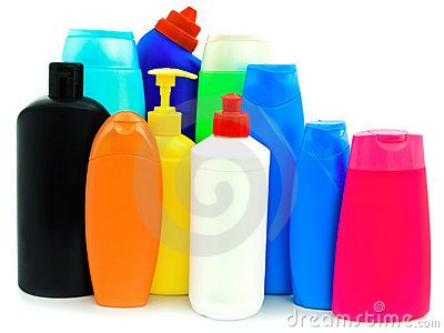 Toiletries bottles