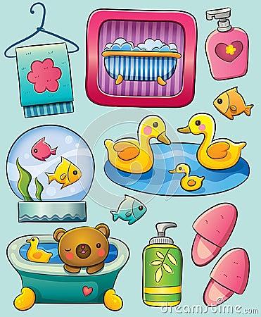 Toiletry Royalty Free Stock Photos - Image: 25258318