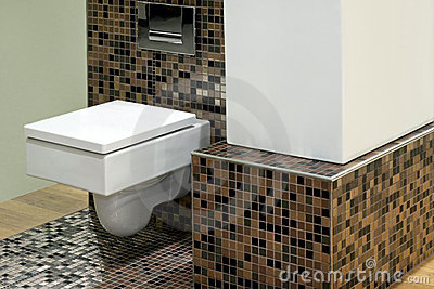 toilette und fliesen lizenzfreies stockbild bild 5649936. Black Bedroom Furniture Sets. Home Design Ideas