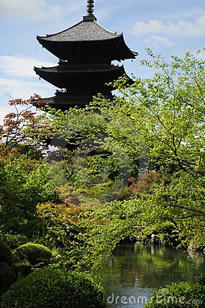 Toji temple in Kyoto