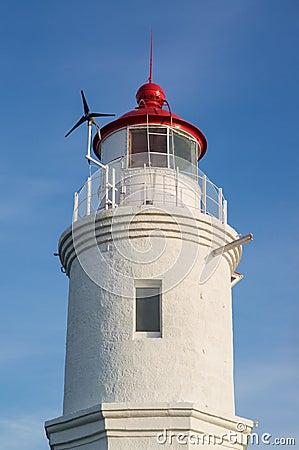 Tokarevskiy lighthouse in Vladivostok, Russia.