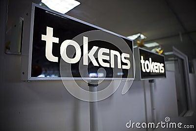 Token signs