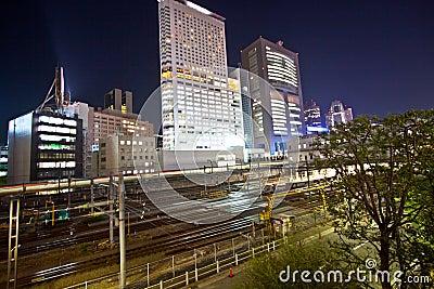 Tokyo City train station