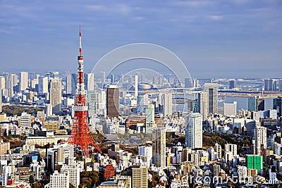 Tokyo Daytime Skyline
