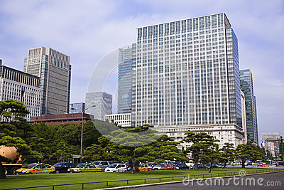 Tokyo: downtown chiyoda Editorial Photography