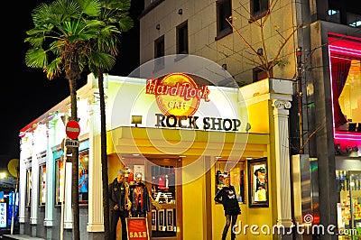 Tokyo Hard Rock Cafe , Japan Editorial Photography