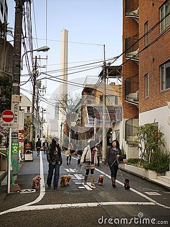 Tokyo Japan Editorial Image
