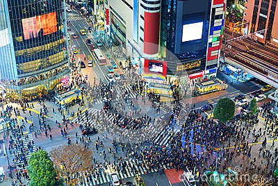 Tokyo, Japan Intersection