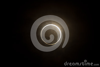 Tokyo, Japan - May 21: Annular eclipse Editorial Stock Photo