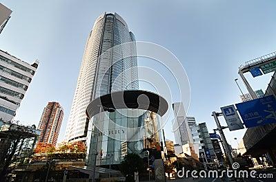 TOKYO, JAPAN - NOVEMBER 23: People visit the  Mori Tower in Roppongi Hills Editorial Image