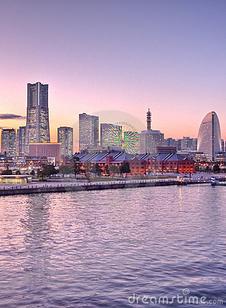 Free Tokyo Japan Ship At The Harbor Yokohama Stock Photos - 8389943