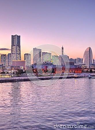 Tokyo Japan ship at the harbor Yokohama