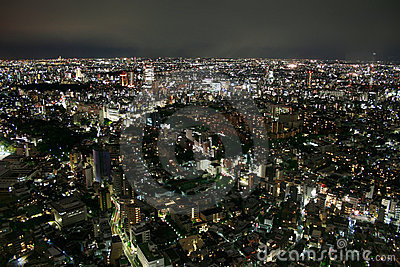 Tokyo (Japan) - View from Ropponghi Hills