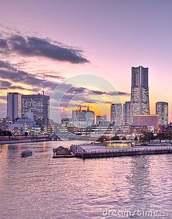Tokyo Japan Yokohama bay