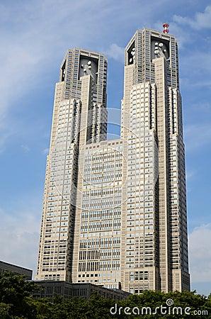 Tokyo Metropolitan Government Building Editorial Image