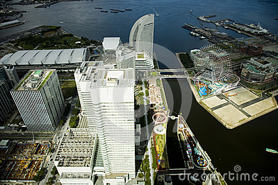 Tokyo panoramic view. A view on a city Editorial Photography