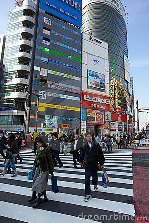 Free Tokyo Shibuya Stock Image - 16822031