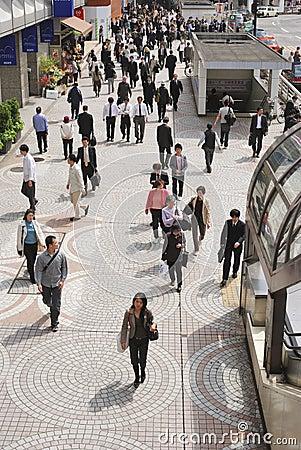 Tokyo, Shinjuku Editorial Stock Image