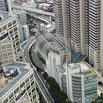Tokyo: shinjuku cityscape