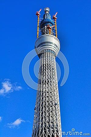 Tokyo sky tree tower in sumida ward, tokyo, japan