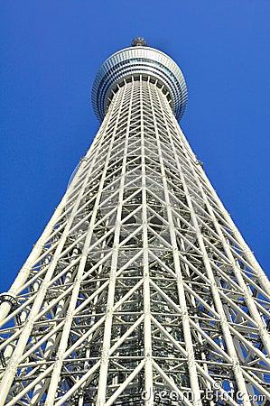 Tokyo sky tree tower in sumida ward, tokyo, japan Editorial Photography